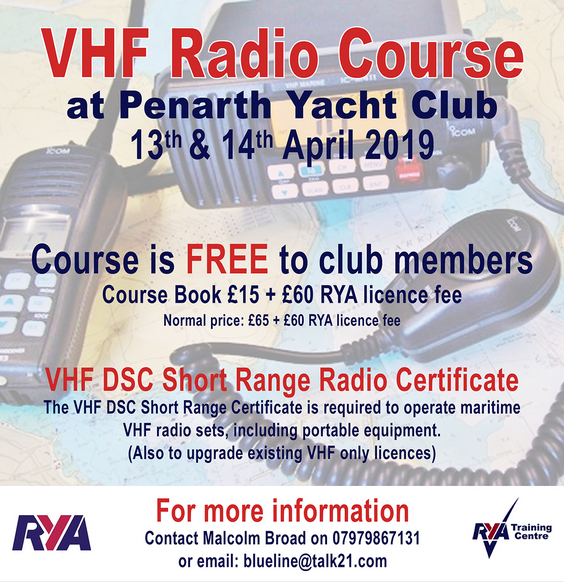 VHF radio course april 2019